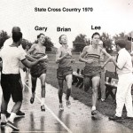 Gary, Brian and Lee - 1970 Team